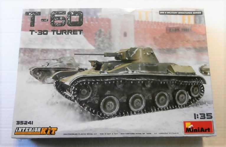 MINIART 1/35 35241 T-60  T-30 TURRET