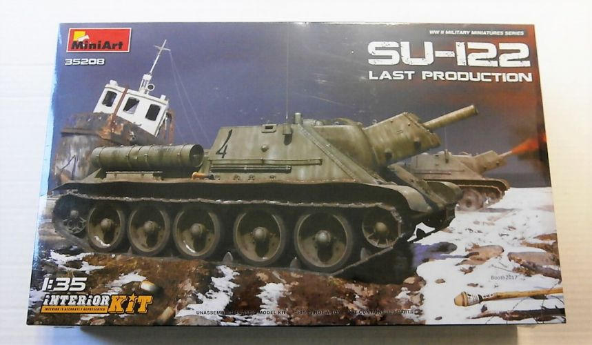 MINIART 1/35 35208 SU-122 LAST PRODUCTION