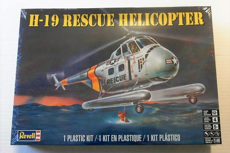 REVELL 1/48 5331 H-19 RESCUE HELICOPTER