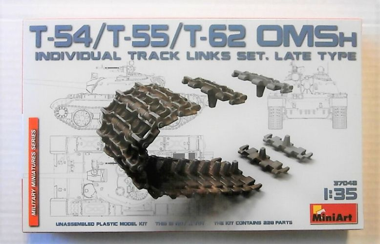 MINIART 1/35 37048 OMSH INDIVIDUAL TRACK LINKS SET LATE TYPE