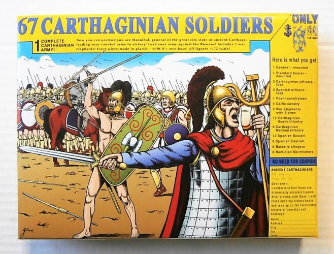 HAT INDUSTRIES 1/72 8152 CARTHAGINIAN ARMY