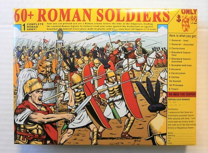 HAT INDUSTRIES 1/72 8151 REPUBLICAN ROMAN ARMY