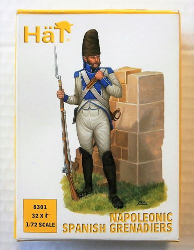 HAT INDUSTRIES 1/72 8301 NAPOLEONIC SPANISH GRENADIERS