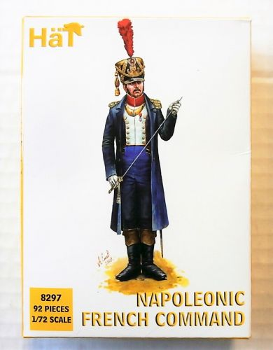 HAT INDUSTRIES 1/72 8297 NAPOLEONIC FRENCH COMMAND
