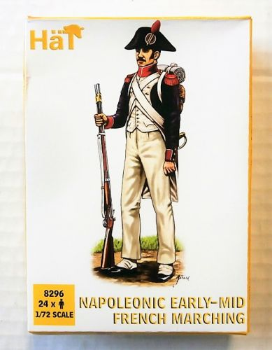 HAT INDUSTRIES 1/72 8296 NAPOLEONIC EARLY-MID FRENCH MARCHING