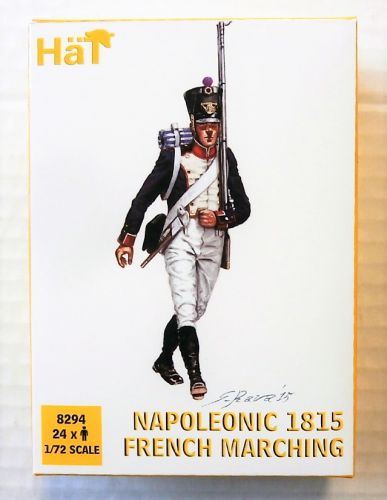 HAT INDUSTRIES 1/72 8294 NAPOLEONIC 1815 FRENCH MARCHING