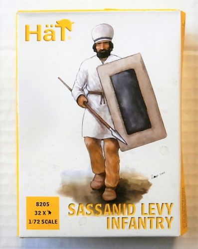 HAT INDUSTRIES 1/72 8205 SASSANID LEVY INFANTRY
