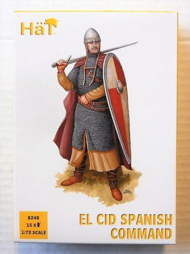 HAT INDUSTRIES 1/72 8248 EL CID SPANISH COMMAND