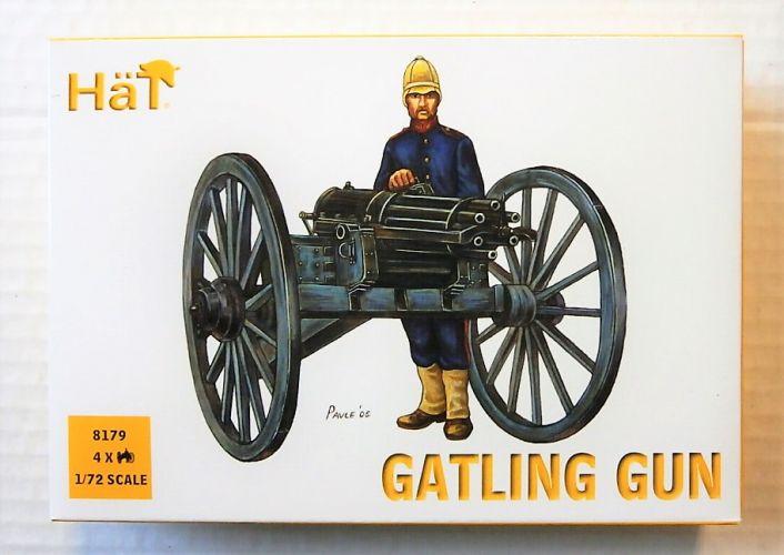 HAT INDUSTRIES 1/72 8179 GATLING GUN