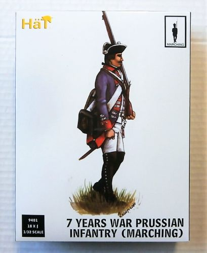 HAT INDUSTRIES 1/32 9401 7 YEARS WAR PRUSSIAN INFANTRY  MARCHING