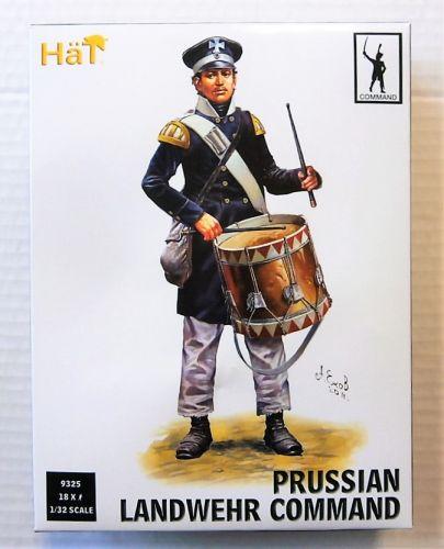 HAT INDUSTRIES 1/32 9325 PRUSSIAN LANDWEHR COMMAND