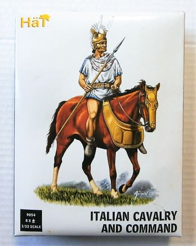 HAT INDUSTRIES 1/32 9054 ITALIAN CAVALRY AND COMMAND