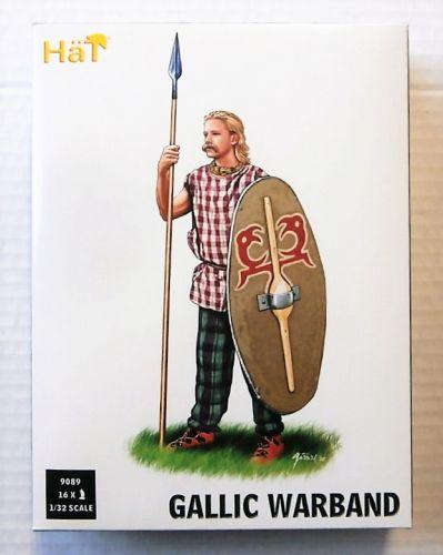 HAT INDUSTRIES 1/32 9089 GALLIC WARBAND