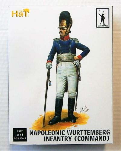 HAT INDUSTRIES 1/32 9307 NAPOLEONIC WURTTEMBERG INFANTRY  COMMAND