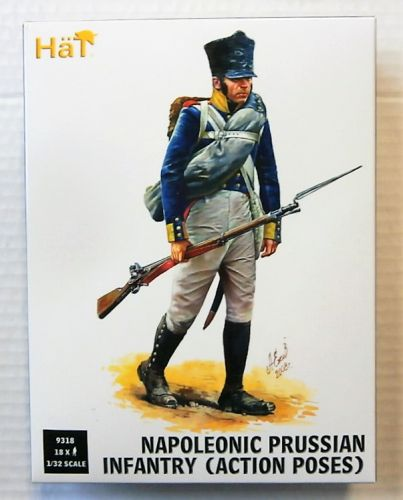 HAT INDUSTRIES 1/32 9318 NAPOLEONIC PRUSSIAN INFANTRY  ACTION POSES
