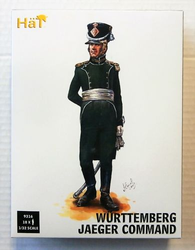 HAT INDUSTRIES 1/32 9316 WURTTEMBERG JAEGER COMMAND