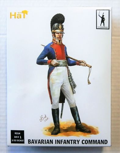 HAT INDUSTRIES 1/32 9314 BAVARIAN INFANTRY COMMAND