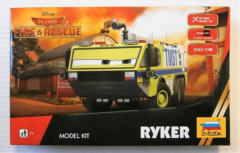ZVEZDA 1/100 2078 DISNEY PLANES FIRE   RESCUE RYKER