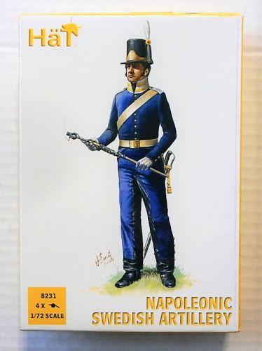 HAT INDUSTRIES 1/72 8231 NAPOLEONIC SWEDISH ARTILLERY