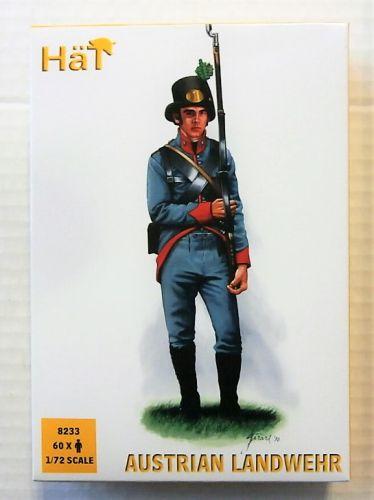 HAT INDUSTRIES 1/72 8233 AUSTRIAN LANDWEHR