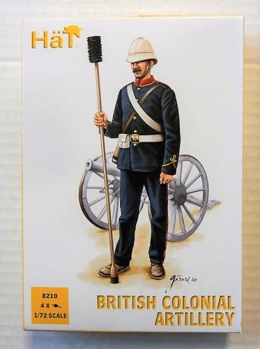 HAT INDUSTRIES 1/72 8210 BRITISH COLONIAL ARTILLERY