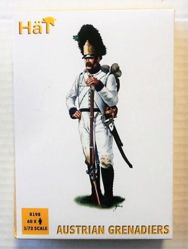 HAT INDUSTRIES 1/72 8198 AUSTRIAN GRENADIERS