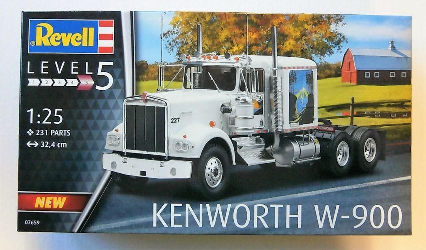 REVELL 1/25 07659 KENWORTH W-900
