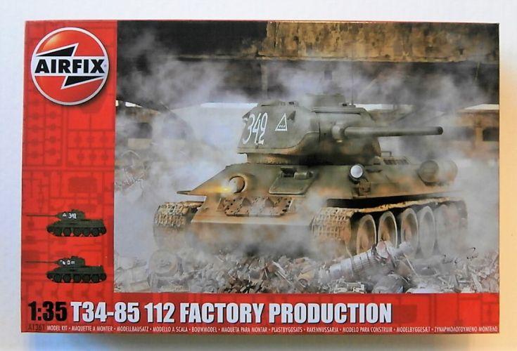 AIRFIX 1/35 1361 T34-85 112 FACTORY PRODUCTION