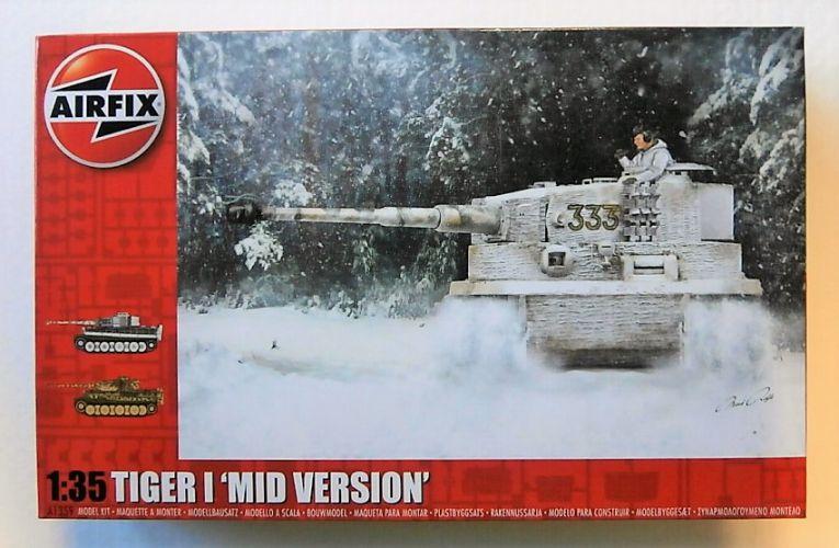 AIRFIX 1/35 1359 TIGER I - MID VERSION