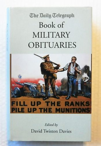CHEAP BOOKS  ZB2266 THE DAILY TELEGRAPH BOOK OF MILITARY OBITUARIES