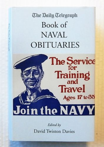 CHEAP BOOKS  ZB2267 THE DAILY TELEGRAPH BOOK OF NAVAL OBITUARIES