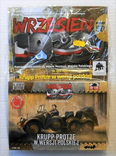 FIRST TO FIGHT  050 KRUPP PROTZE POLISH ARMY VERSION