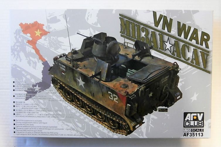 AFV CLUB 1/35 35113 VN WAR M113A1 ACAV
