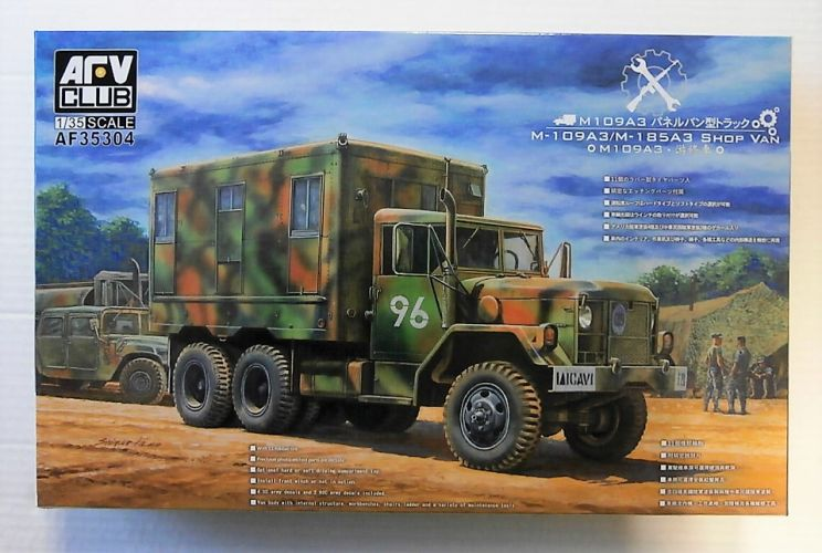 AFV CLUB 1/35 35304 M-109A3/M-185A3 SHOP VAN