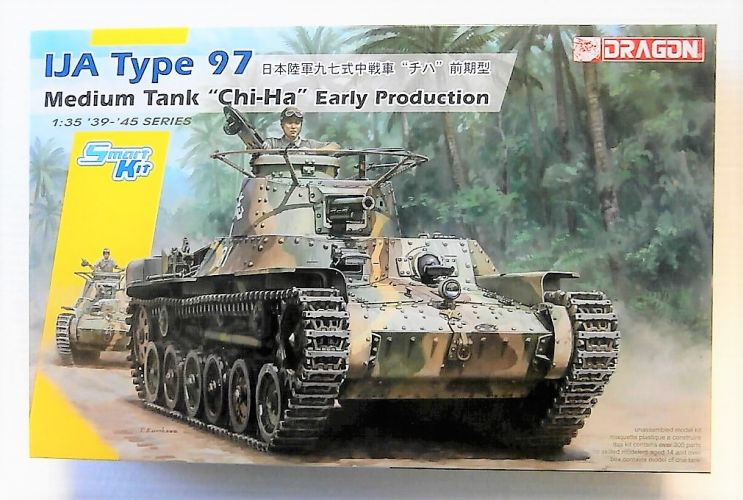 DRAGON 1/35 6870 IJA TYPE 97 MEDIUM TANK CHI-HA EARLY
