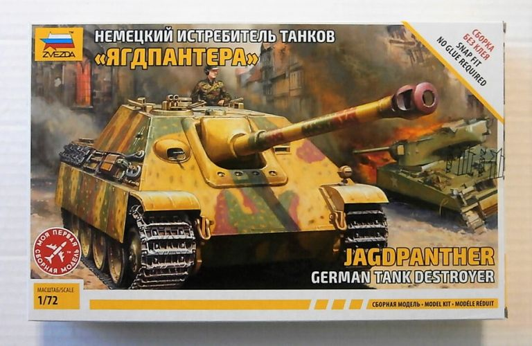 ZVEZDA 1/72 5042 JAGDPANTHER GERMAN TANK DESTROYER