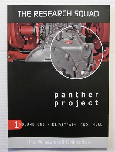CHEAP BOOKS  ZB2311 THE RESEARCH SQUAD PANTHER PROJECT VOLUME 1 - DRIVETRAIN AND HULL