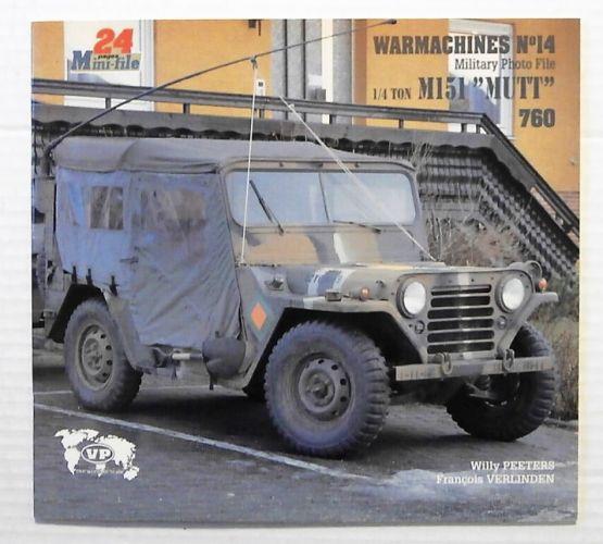 CHEAP BOOKS  ZB2336 WARMACHINES No14 - 1/4 TON M151  MUTT