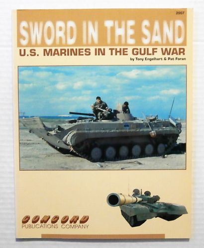 CHEAP BOOKS  ZB2350 SWORD IN THE SAND US MARINES IN THE GULF WAR - TONY ENGELHART AND PAT FORAN
