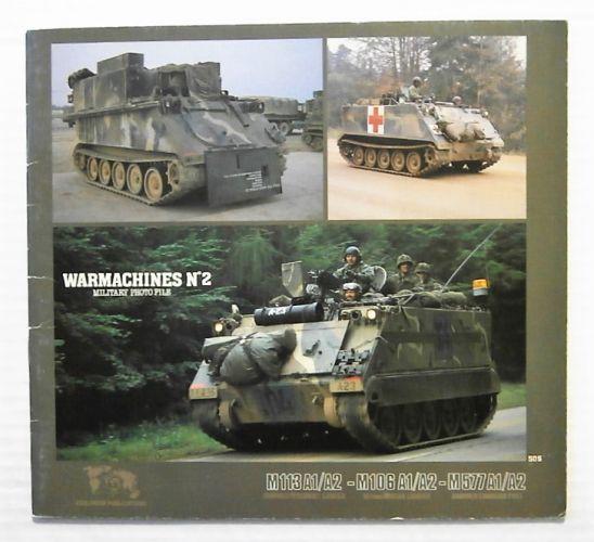 CHEAP BOOKS  ZB2353 WARMACHINES No2 M113 A1/A2 - M106 A1/A2 - M577 A1/A2