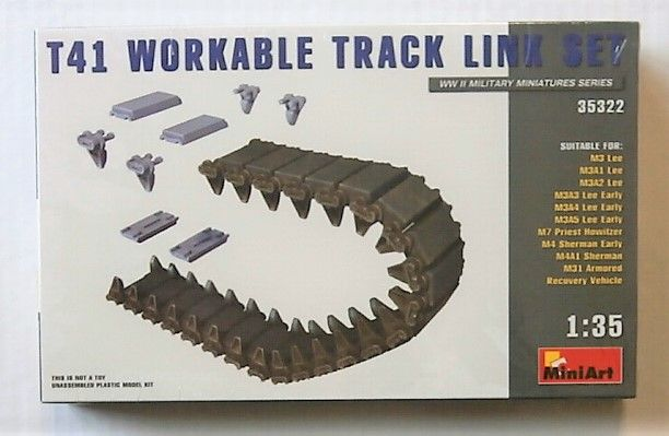 MINIART 1/35 35322 T41 WORKABLE TRACK LINK SET