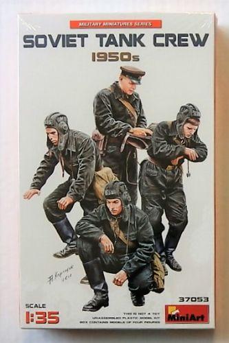MINIART 1/35 37053 SOVIET TANK CREW 1950s