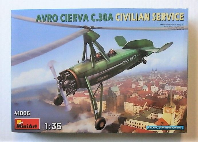 MINIART 1/35 41006 AVRO CIERVA C.30A CIVILIAN SERVICE