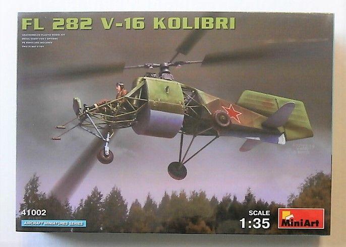 MINIART 1/35 41002 FL 282 V-16 KOLIBRI