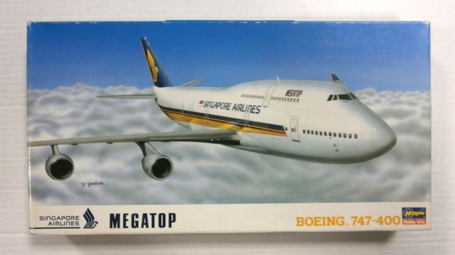 HASEGAWA 1/200 LT21 BOEING 747-400 SINGAPORE AIRLINES