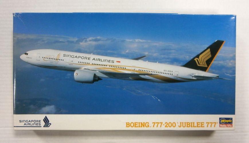 HASEGAWA 1/200 LT123 BOEING 777-200 JUBILEE 777 SINGAPORE AIRLINES