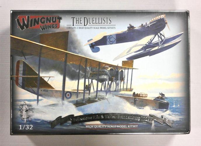 WINGNUT WINGS 1/32 32801 THE DUELLISTS FELIXSTOWE F.2A   HANSA-BRANDENBURG W.29