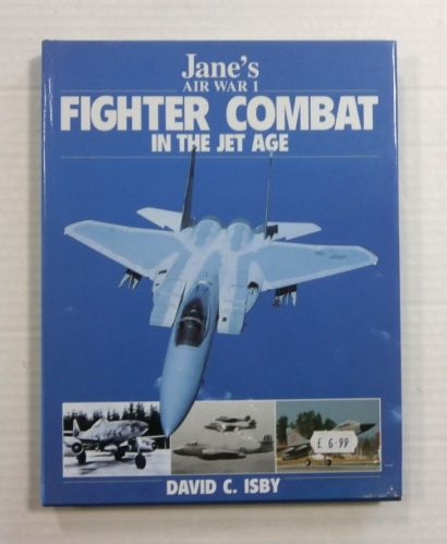 CHEAP BOOKS  ZB1163 JANES AIR WAR 1 FIGHTER COMBAT IN THE JET AGE
