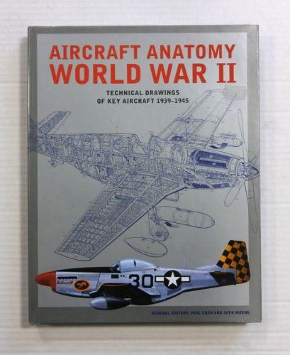 CHEAP BOOKS  ZB1180 AIRCRAFT ANATOMY WORLD WAR II TECHNICAL DRAWINGS OF KEY AIRCRAFT 1939-1945