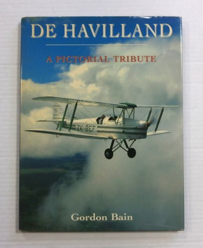 CHEAP BOOKS  ZB1177 DE HAVILLAND A PICTORIAL TRIBUTE GORDON BAIN